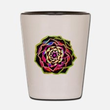 Organic Mandala Shot Glass