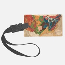 Cool Us map Luggage Tag