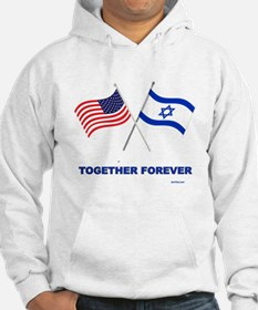 US and Israel Together Forever Hoodie