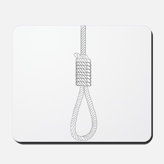 Noose Sketch Mousepad