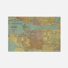 Cute Vancouver Rectangle Magnet