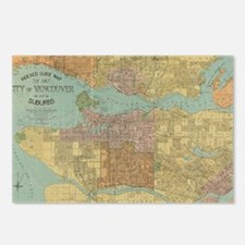 Cute Vancouver Postcards (Package of 8)