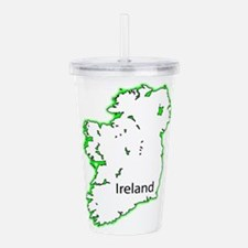 Ireland Acrylic Double-wall Tumbler