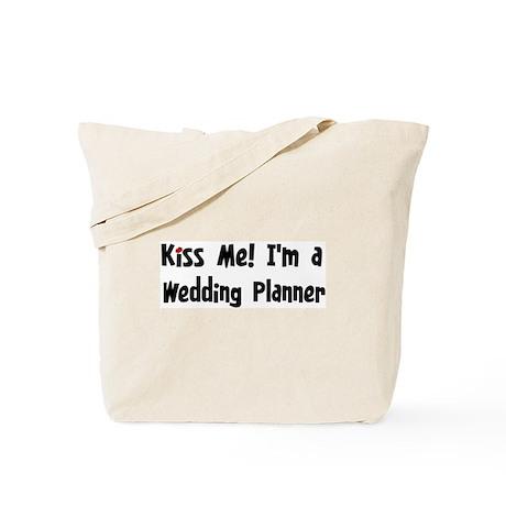 Kiss Me: Wedding Planner Tote Bag