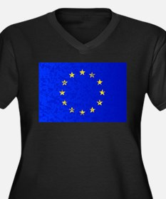 EU Flag Plus Size T-Shirt