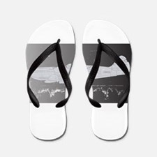 Damaged Fighter Flip Flops