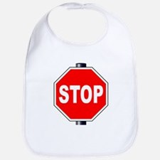 Octagon Stop Sign Bib
