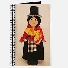 Welsh Cloths Pin Doll Journal