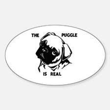 Unique Pug president Sticker (Oval)