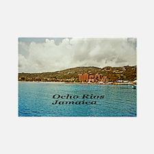 Ocho Rios Rectangle Magnet (10 pack)