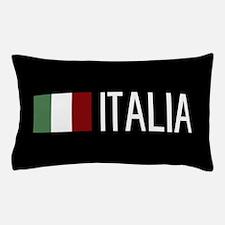 Italy: Italia & Italian Flag Pillow Case