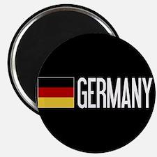 "Germany: Germany & German F 2.25"" Magnet (10 pack)"