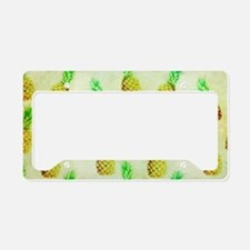 Unique Pineapple License Plate Holder