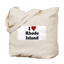 I Love Rhode Island Tote Bag