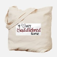 Saddlebred horse Tote Bag