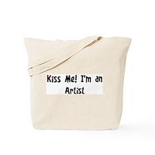 Kiss Me: Artist Tote Bag