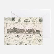 Cute Mountains Greeting Card