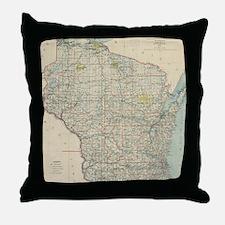 Unique Atlas Throw Pillow