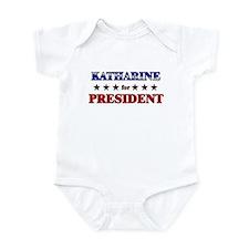 KATHARINE for president Infant Bodysuit
