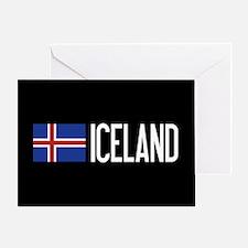Iceland: Icelandic Flag & Iceland Greeting Card