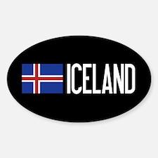 Iceland: Icelandic Flag & Iceland Decal