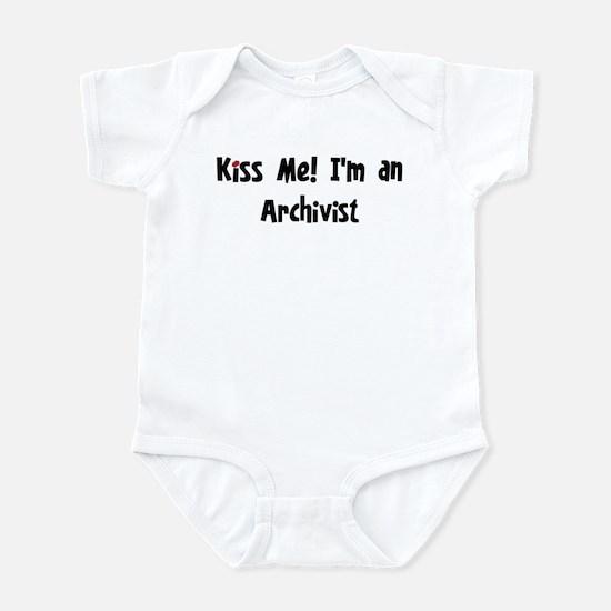 Kiss Me: Archivist Infant Bodysuit