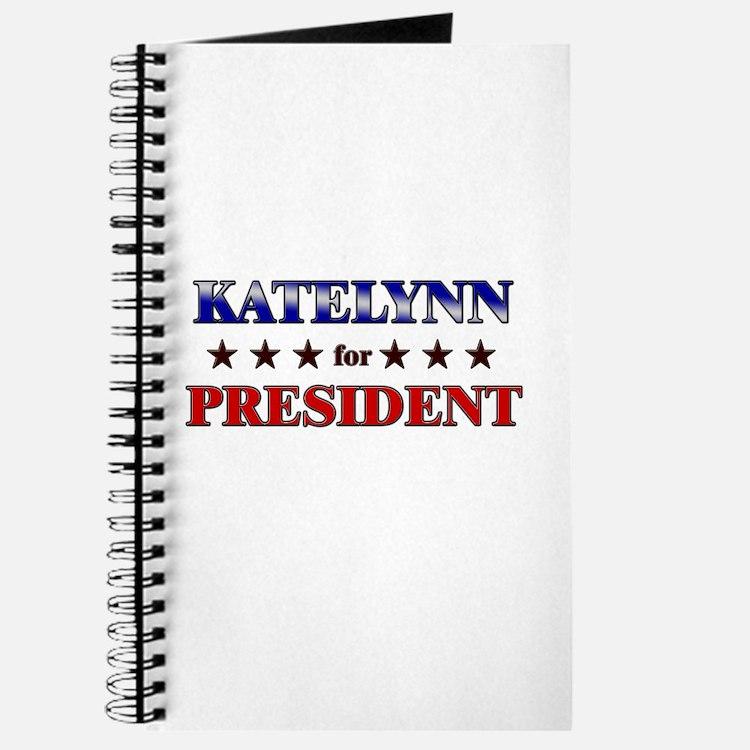 KATELYNN for president Journal