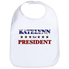 KATELYNN for president Bib
