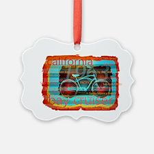 CALIFORNIA BAY CRUISER Beach Citi Ornament
