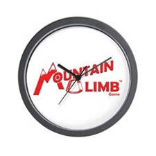 Mountain Climb game Wall Clock