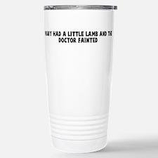 Unique Little lamb Travel Mug
