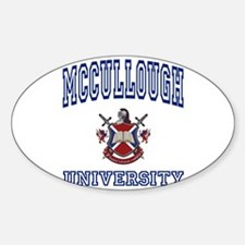 MCCULLOUGH University Rectangle Decal