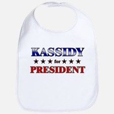 KASSIDY for president Bib