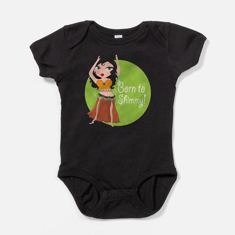 Cute Bellydance Baby Bodysuit