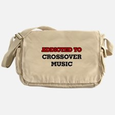 Addicted to Crossover Music Messenger Bag