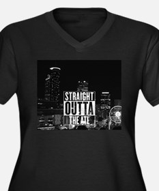 STRAIGHT OUTTA THE ATL Plus Size T-Shirt