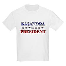 KASANDRA for president T-Shirt