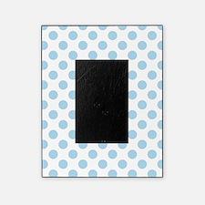 Light Blue Polka Dots Picture Frame