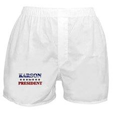 KARSON for president Boxer Shorts