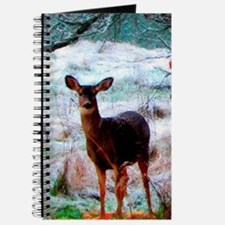 Deer In Orchard Journal