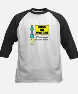 BOSS ON WATCH GET BACK TO WOR Tee