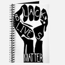 Cute Black power fist Journal