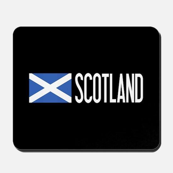 Scotland: Scottish Flag & Scotland Mousepad