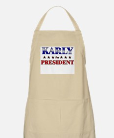 KARLY for president BBQ Apron