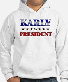 KARLY for president Hoodie