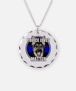 Police lives matter Necklace