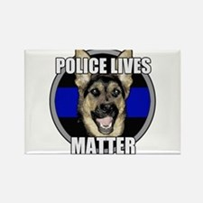 Police lives matter Rectangle Magnet (10 pack)