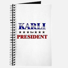 KARLI for president Journal