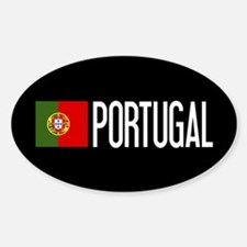 Portugal: Portuguese Flag & Portuga Sticker (Oval)