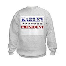 KARLEY for president Jumpers